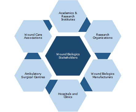 wound biologics stakeholders