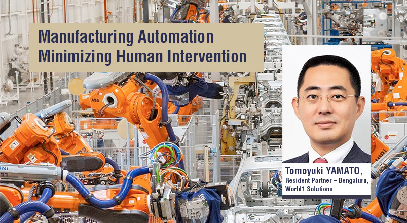 Manufacturing Automation Minimizing Human Intervention