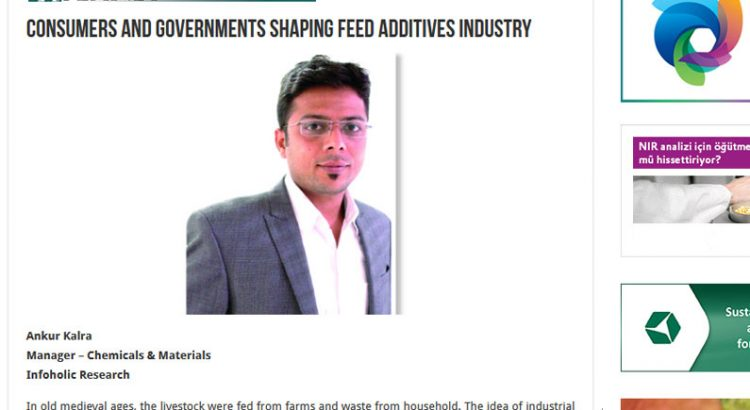 Special Cover Story in FEED Planet Magazine by Ankur Kalra, Infoholic Research